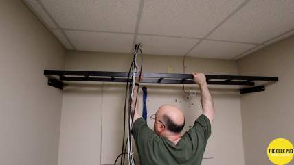 New Building Network 0009 - Ladder Install 3