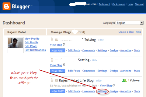 Enable Mobile Version Blogspot