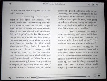 Kindle Reader for HP