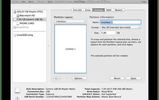 How to make Mac OS X 10 7 Lion Bootable USB