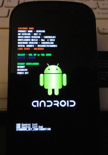 How to Full Flash Google Nexus S