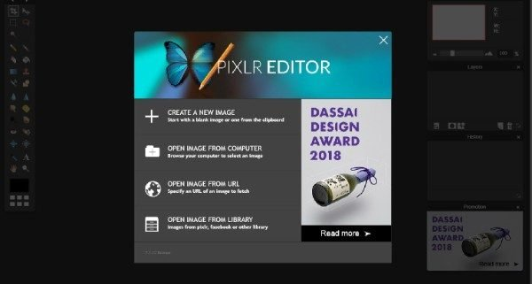 Pixlr Online Image Editor