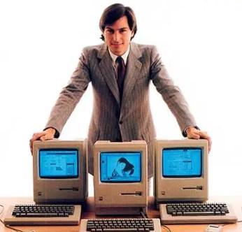 Steve Jobs Unveils macintosh