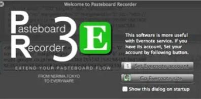 Evernote integration