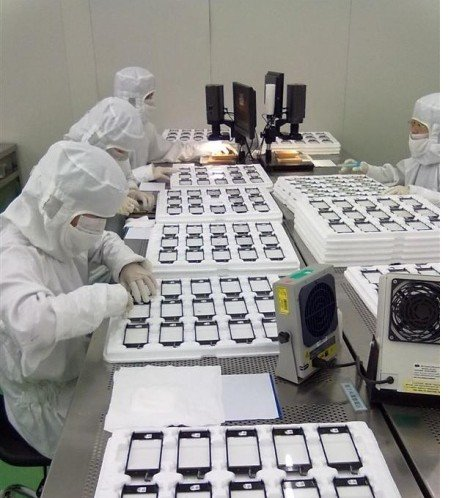 iPhone5 factory