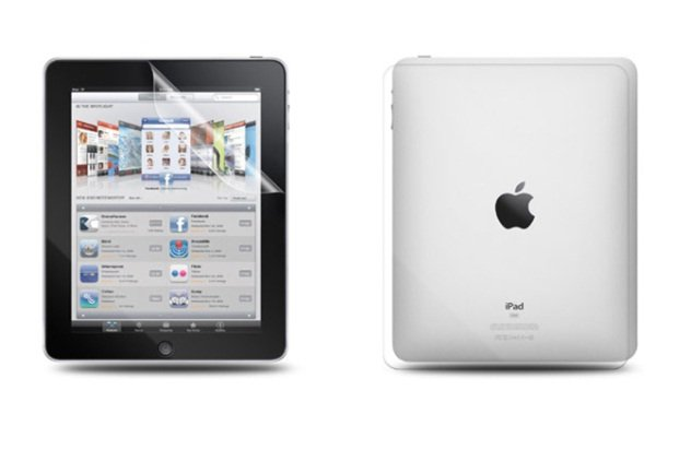 installing antiglare film on iPad and android tablets