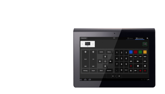 Sony Tablet Remote