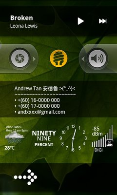 Widget-Locker screen lock app