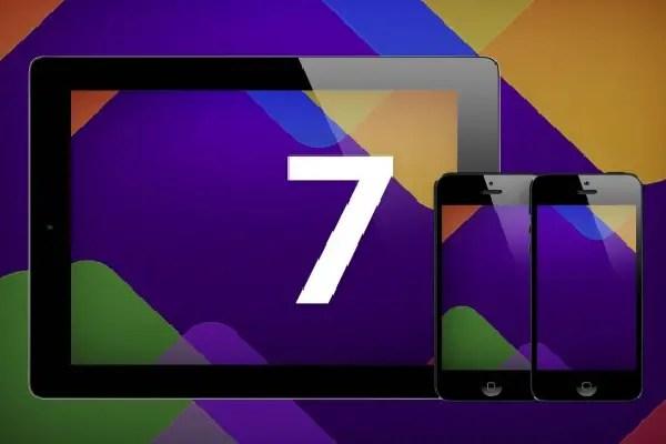 iOS 7 Flat Look