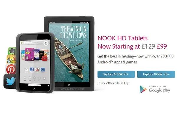 Nook HD tablets 1