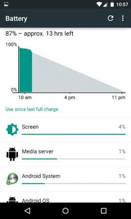 battery estimate