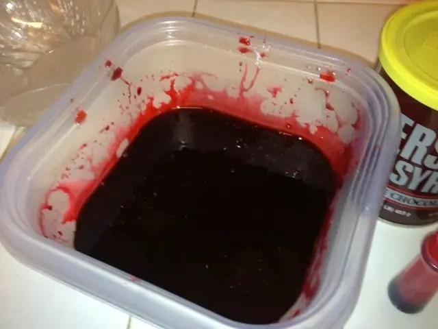 make fake blood