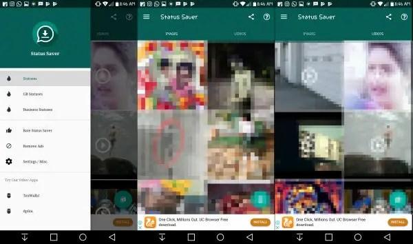 save Whatsapp status image Video