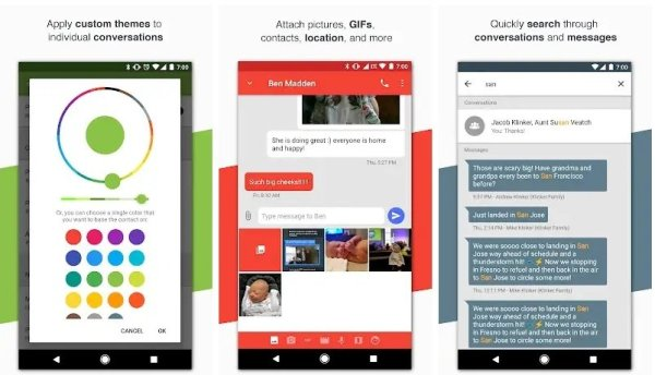 Best SMS and Messaging apps for Android for Texting