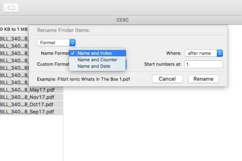 Rename Multiple Files on Mac OSX