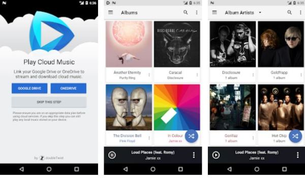 How to play music directly from Dropbox account on the go