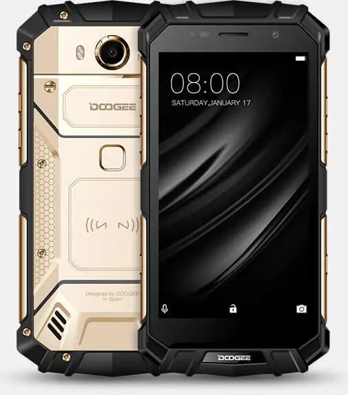 DOOGEE S60 best rugged smartphone 2018
