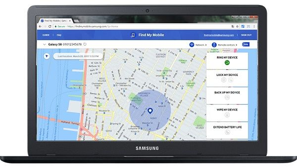 Samsung Find My Mobile unlock an Android phone if you forgot PIN