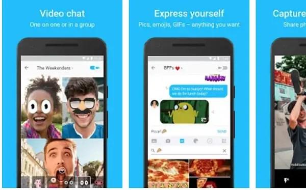 Kik messenger video chat