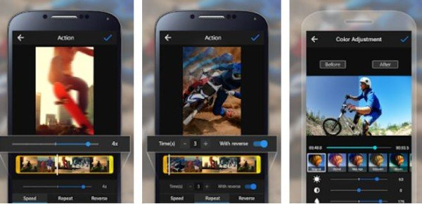 ActionDirector Video editing app for Android