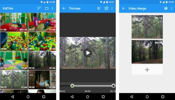 VidTrim Video Editor App for Android