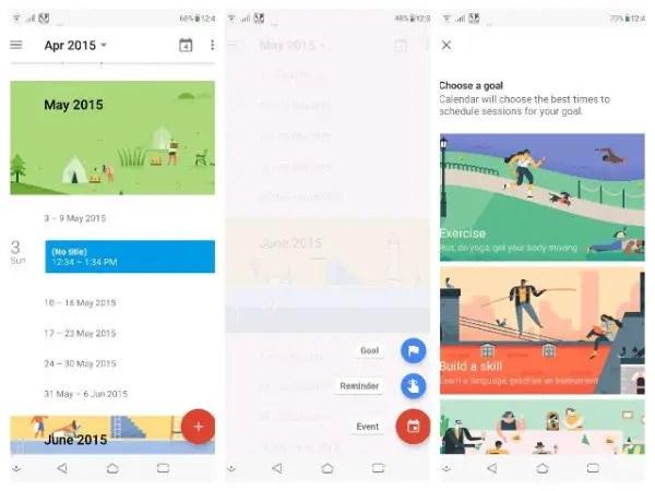 Set goals in Google Calendar