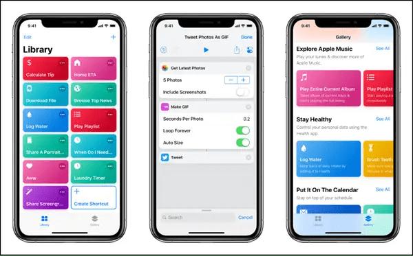 Features of Siri Shortcuts App (iOS 12)
