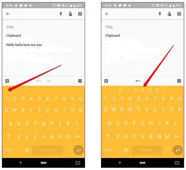 chrooma keyboard app