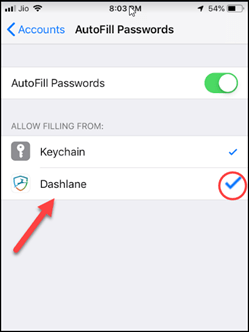 Select Third-Party Password Manager