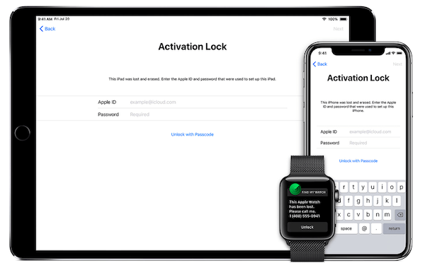 Activation Lock on Apple Devices