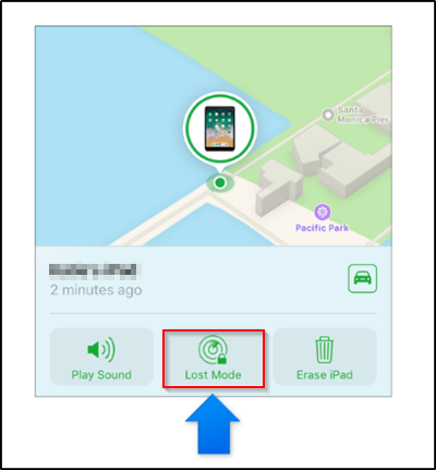iPhone tracking on Maps