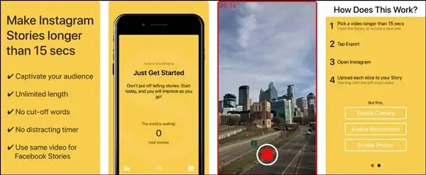Make Instagram Stories longer