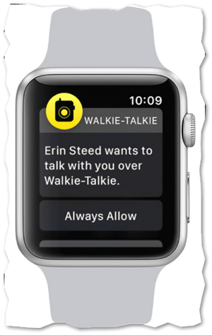 Apple Watch feature