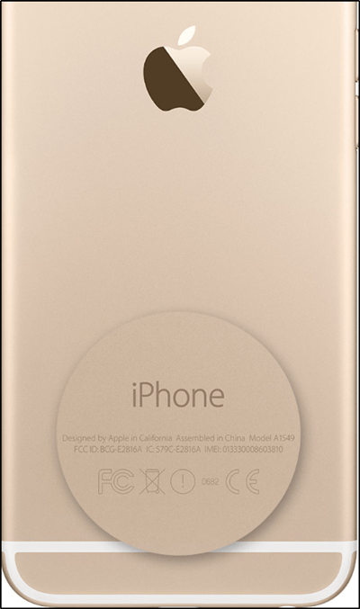Find Serial Number of iPhone