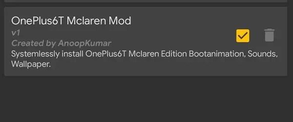 oneplus 6t mclaren mode