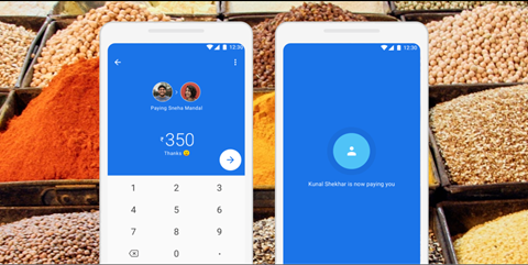 payment on Google Pay