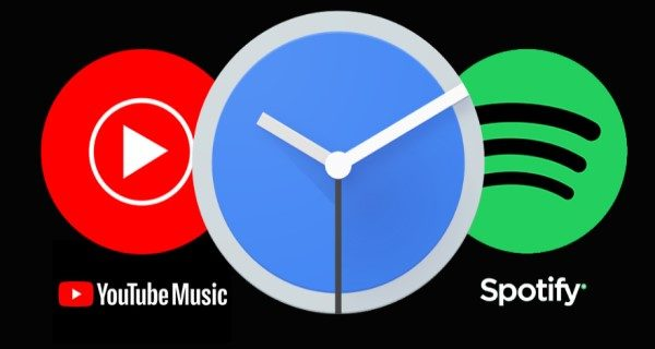 How to use Spotify or YouTube Music in Alarm Clock App