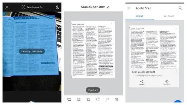 Adobe Scanner App
