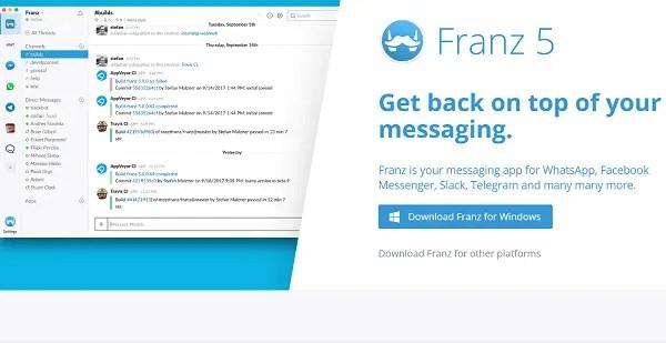 franz universal message