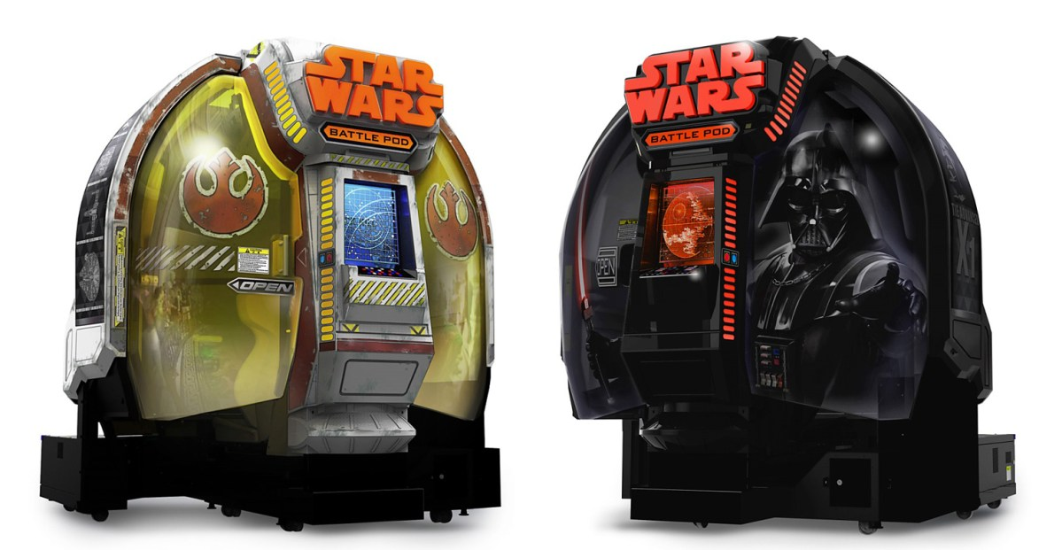 For Just $100,000, You Could Own A Star Wars Battle Pod