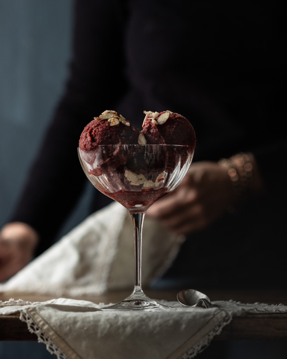 Winter Cherry Sorbet