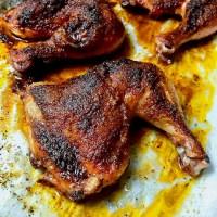 Roasted Chicken Leg Quarters