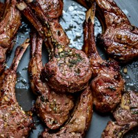 Grilled Greek Style Lamb Chops