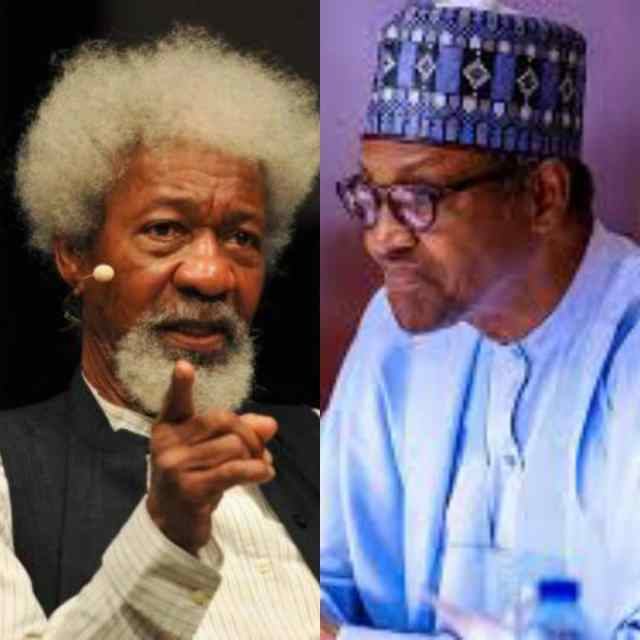"""Buhari Is Not In Charge Of Nigeria"" - Wole Soyinka"