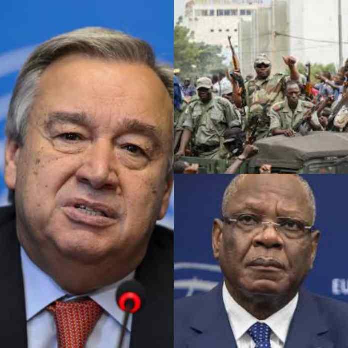 MUTINY SOLDIERS: UN Takes Decision On Arrest Of Mali President, Ibrahim Boubacar Keïta