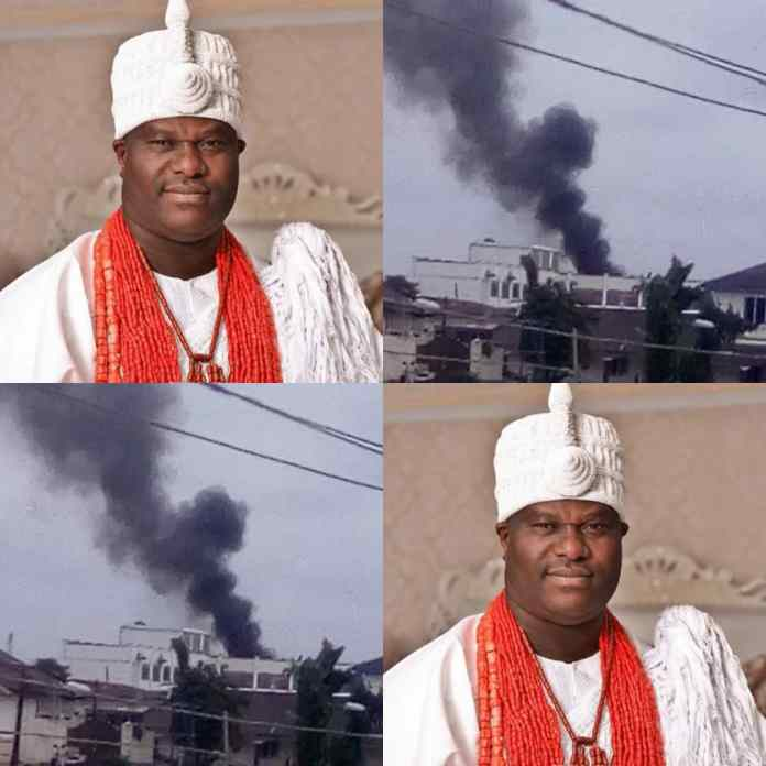 JUST IN: My Palace Is Intact, Ooni Of Ife Says After Fire Outbreak