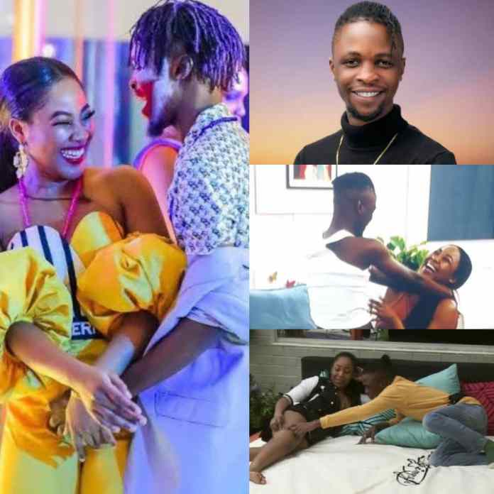 #bbnajia2020: Watch Laycon's Reaction As Erica Returns His Ring
