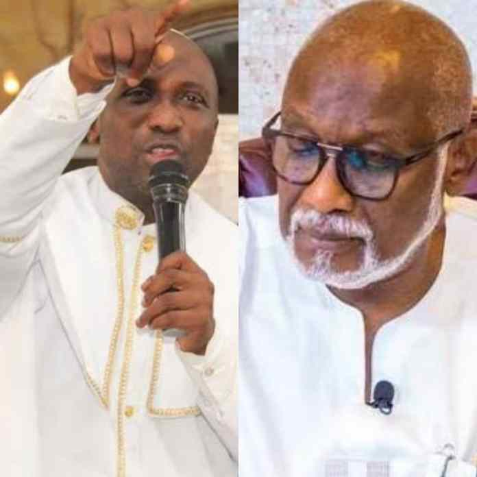 Primate Ayodele Reveals Anointed Candidate For APC, Warns Akeredolu