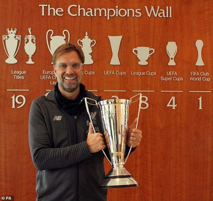 Jurgen Klopp Named #EPL Manager Of The Year