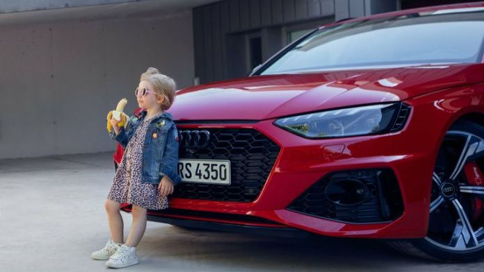 German Carmaker Audi Apologises For Advert Showing Little Girl Eating A Banana